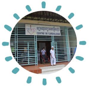 Calmette Hospital of Phnom Penh Cambodia