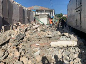 Haiti Earthquake 2021 rubble